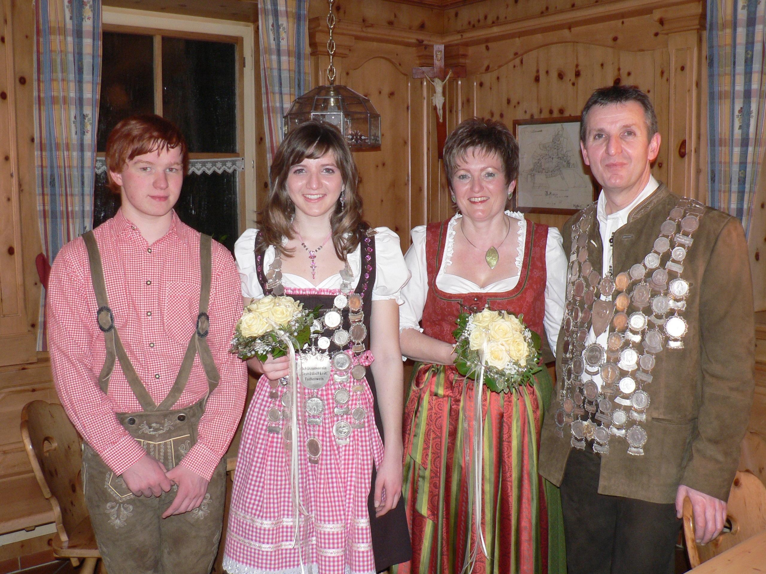 Schützenkönige 2008