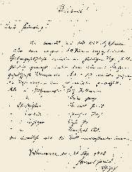 Das Original-Protokoll des Schriftführers Paul Hammerl