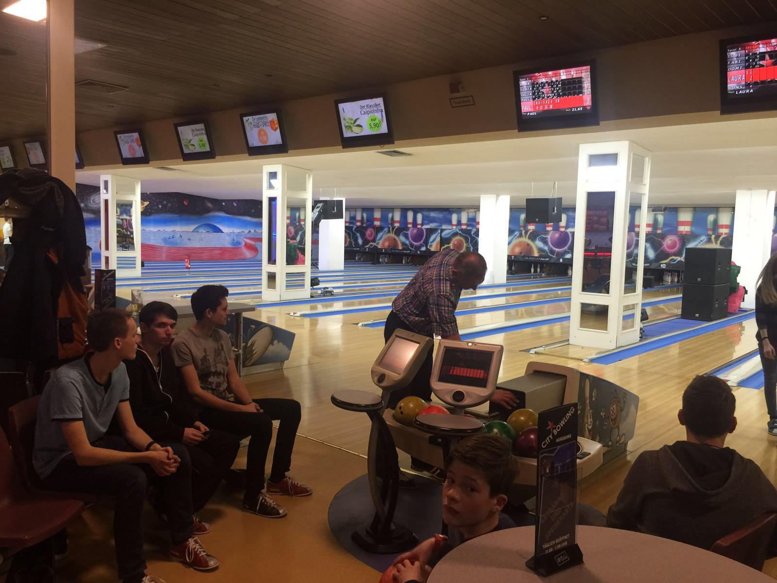 Bowling 2016 - Jugend